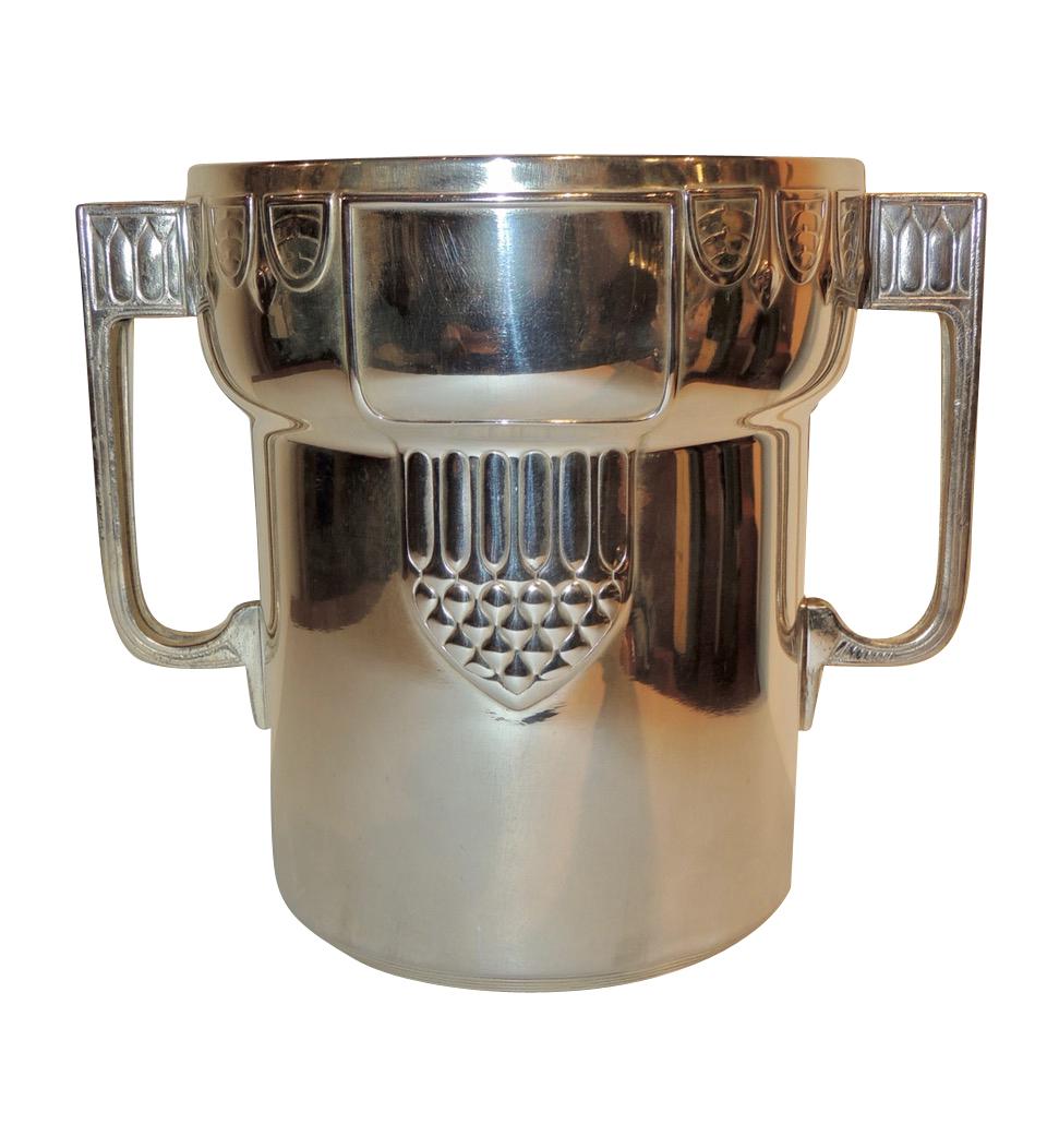 Silver Champagne Cooler Judgendstil Art Nouveau