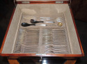 Complete Silverware Set  by WMF in Art Deco Box