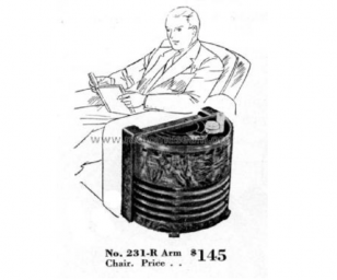 Stromberg-Carlson 231-R Chairside Tube Radio Bluetooth (1937)