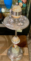 Art Deco Smoking Stand  Ash Trays with Lights