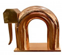 Chase Elephant Bookends by Walter Von Nessen