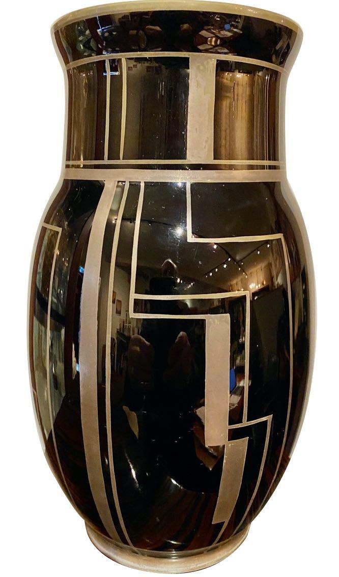 Pierre D'Avesn Modernist Art Glass from Lorrain