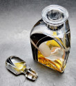 Art Deco Decanter and Whiskey Set by Karl Palda