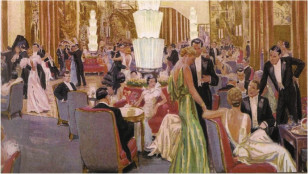 Normandie 1935 Illustration