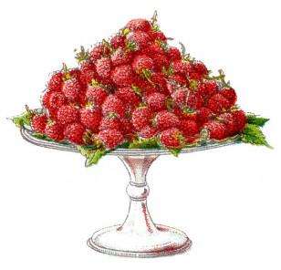 Berries on Pedestal