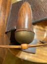 Historic Vintage Wooden Model Airplane Art Deco style