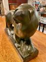 Jean Canneel Cubist Panther by  Art Deco Belgian Sculptor