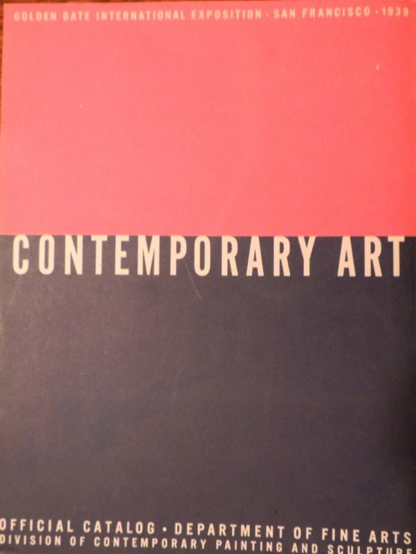 Contemporary Art 1939