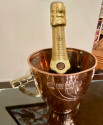 Champagne Bucket Copper & Brass SecessionArts & Crafts Design