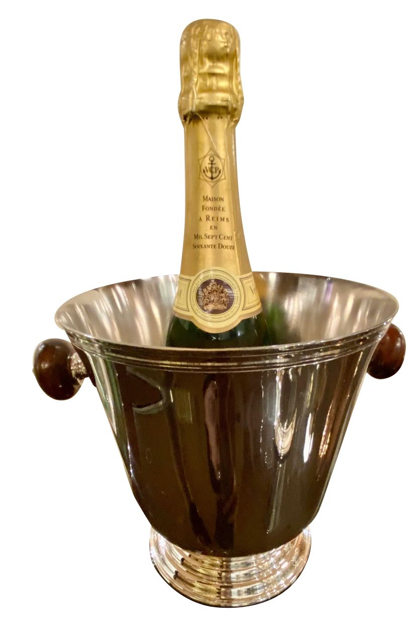 Christofle Champagne Bucket Original Unused with Box