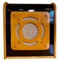 Bluetooth Speaker in Vintage Art Deco Cabinet Restored