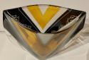 Karl Palda Czech Glass Vase Rare