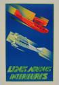 Lignes Aerennes Domestic Airlines Art Deco Poster