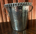 Jean Despres French Silver Metal Champagne and Ice Bucket