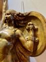 Bronze Statue of a Woman in Tribute by Jules Bernaerts