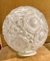 Simonet Freres French Glass Table Lamp or Ceiling Light