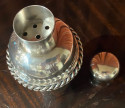 Jean Despres French Silver Plate Cocktail Martini Shaker