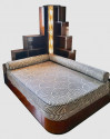 Custom Art Deco Day Bed Designed After George Gershwin's Apartment Day Bed