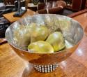 Jean Despres French Silver Plate Metal Bowl Unique Design
