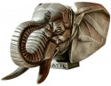 Cubist Elephant Truck Mascot by Frederick Bazin French 1920s