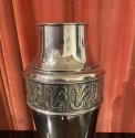 Art Nouveau Silver Pair of Urns