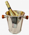 Art Deco Silver Champagne Bucket with Bakelite Handles