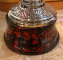 Metal Art Deco Trophy Loving Cup with Bakelite Base