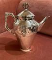 Art Nouveau Silver Tea and Coffee Set Jugendstil by WMF