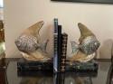 Fish Sculpture Bookends