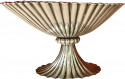 Josef Hoffmann for Wiener Werkstatte Vienna circa 1920 Silver Dish. A Sterling silver bowls hand chased,