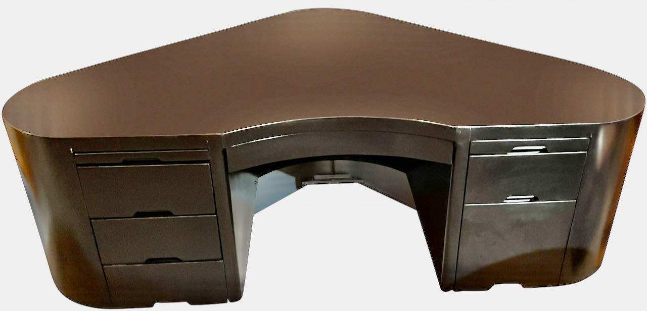 The Fletcher Aviation Art Deco Desk