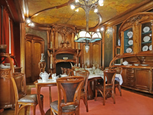 Art Nouveau Dining Room