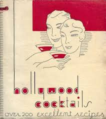 hollywood cocktail  book