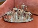 Jugendstil/Art Deco Silver Tea Set