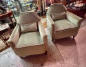 Art Deco 1930s French Modernist Club Chairs