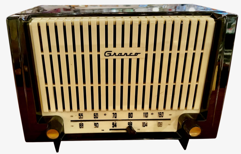 1955 Granco Model 7TAF FM Tube Antique Radio Bluetooth