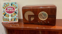 Goodyear Wings 741 Restored Tube Radio with Bluetooth 1937