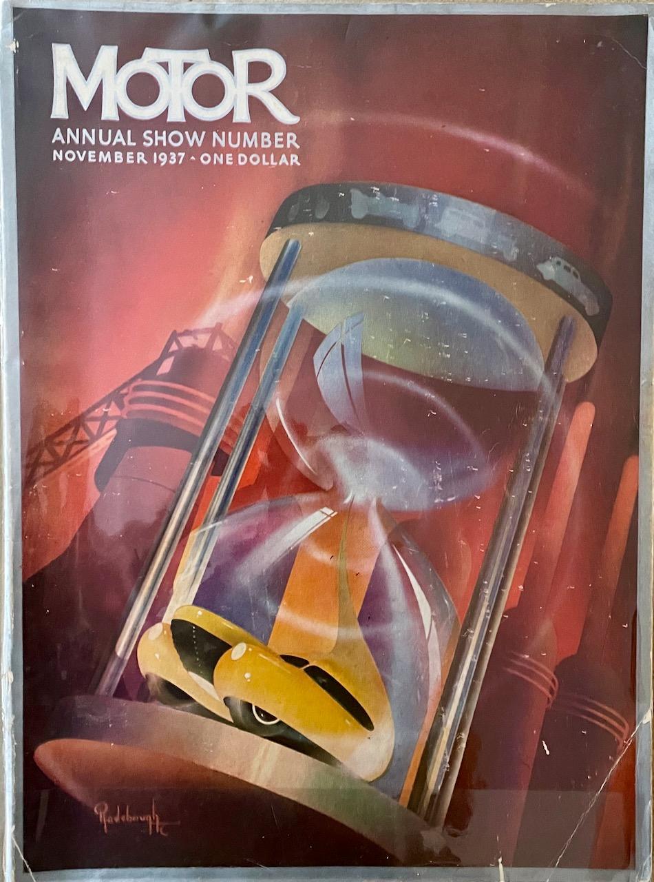 Motorland Magazine 1937
