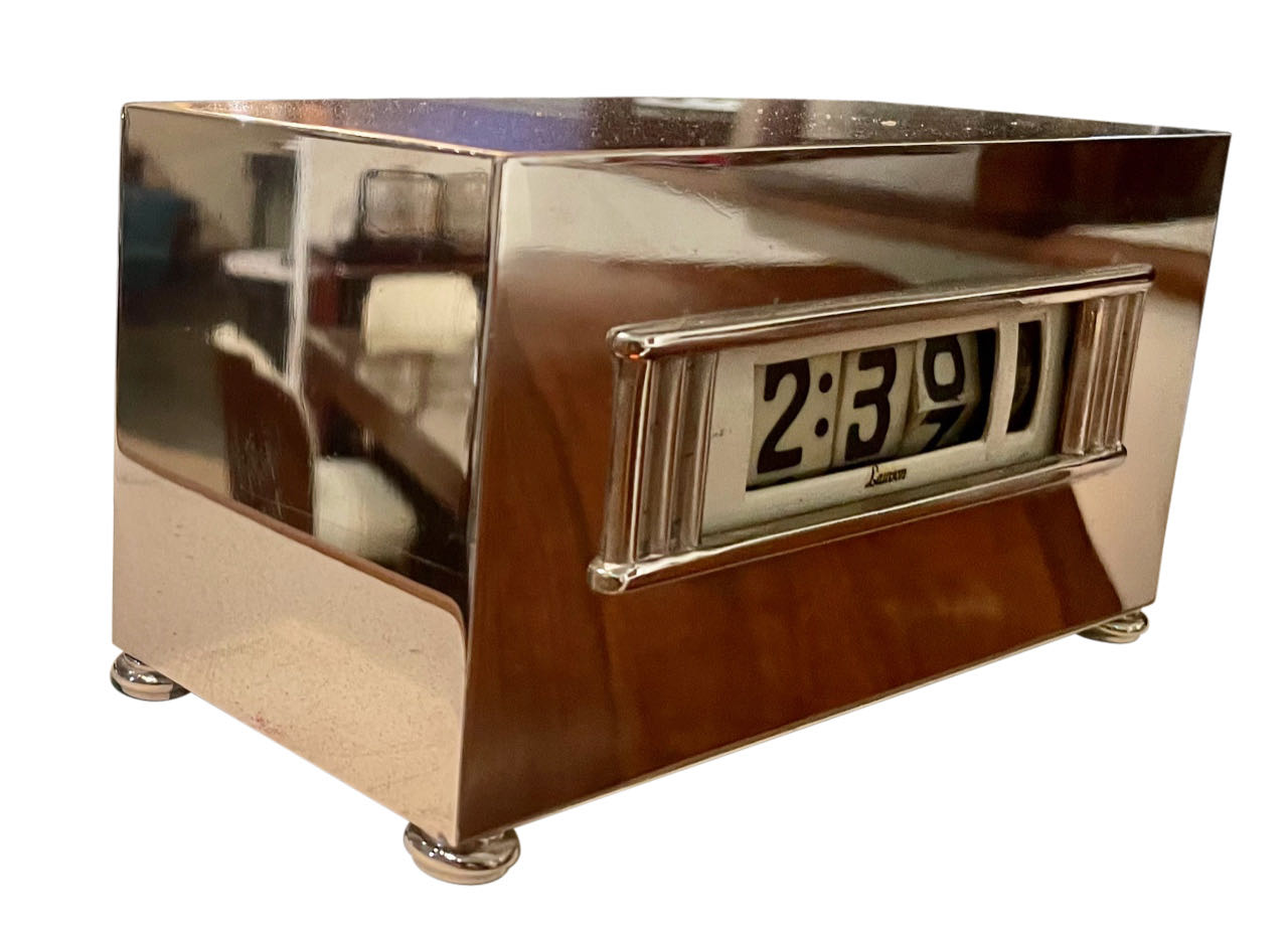 Art Deco Lawson Analogue Digital Clock